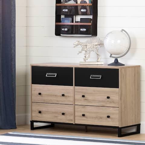 South Shore Induzy 6-Drawer Double Dresser