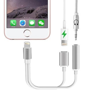F.S.D 2 in 1 Earphone & Lightning Adapter for iPhone