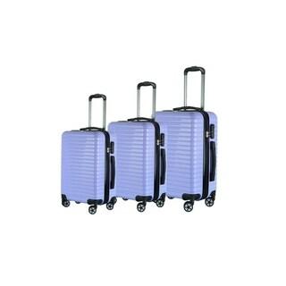 Brio Luggage Eco Light Hardside Lightweight Luggage 3 Piece Set
