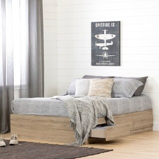South Shore Induzy Mates Bed with Storage Drawers