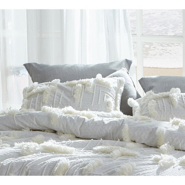 BYB Southern Alps Textured Standard Sham (2-Pack)