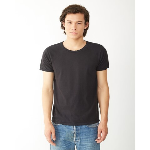 Alternative mens Distressed Heritage T-Shirt (04850C1)