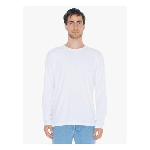 American Apparel mens Power Washed Long-Sleeve T-Shirt (SA2426W)