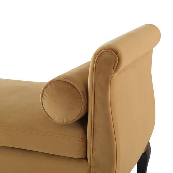 Marvelous Shop Jennifer Taylor Olivia Roll Arm Entryway Bench 55 Machost Co Dining Chair Design Ideas Machostcouk