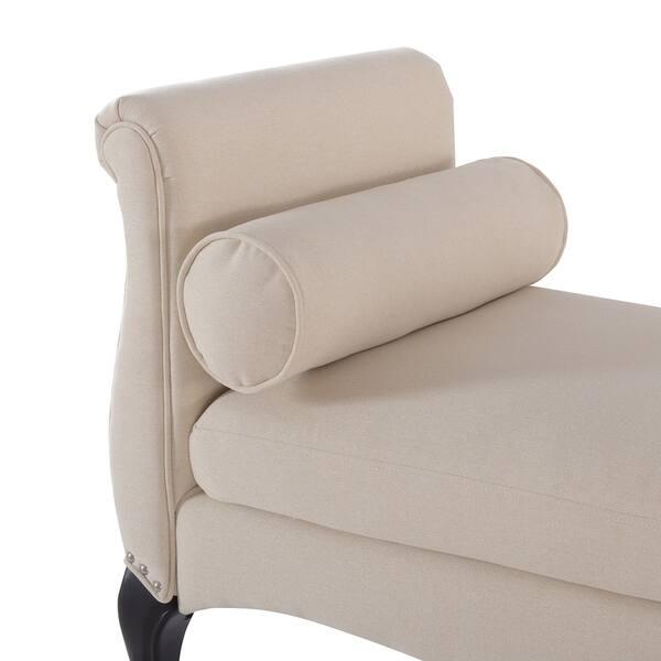 Excellent Shop Jennifer Taylor Olivia Roll Arm Entryway Bench 55 Machost Co Dining Chair Design Ideas Machostcouk