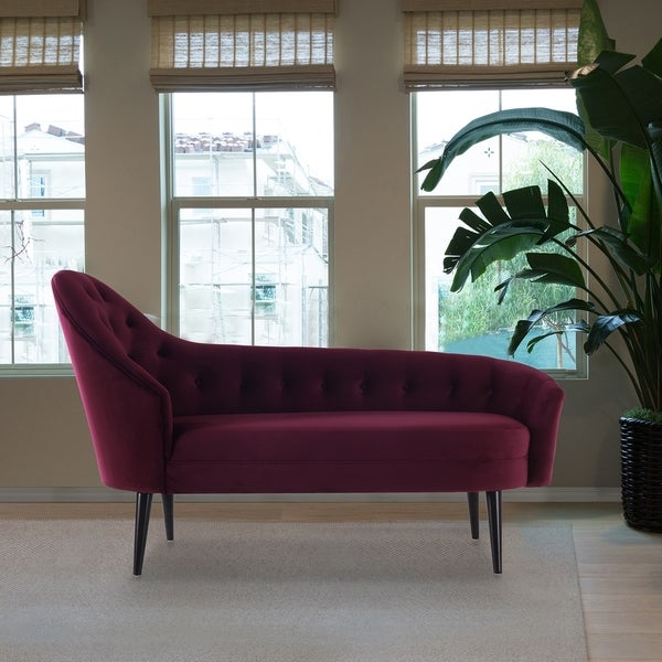 Shop Jennifer Taylor Kayleigh Tufted Chaise Lounge On
