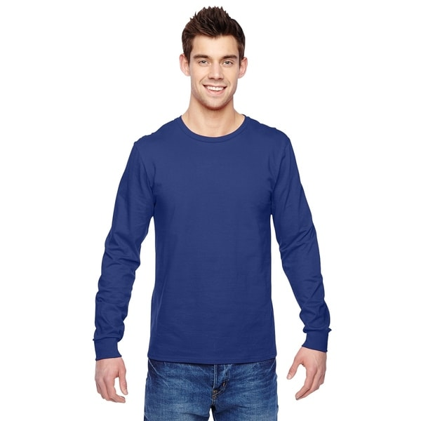 Fruit of the Loom mens Jersey Long-Sleeve T-Shirt (SFLR)