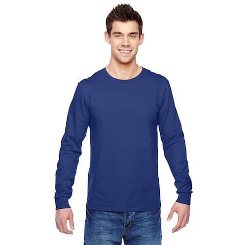 Fruit of the Loom mens Jersey Long-Sleeve T-Shirt (SFLR)