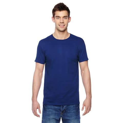 Fruit of the Loom mens Cotton Jersey Crew T-Shirt (SF45R)