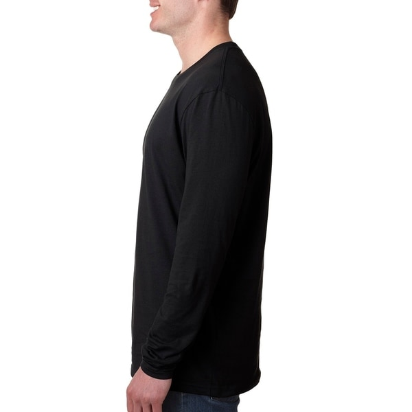 Next Level mens Premium Fitted Long-Sleeve Crew Tee (N3601)
