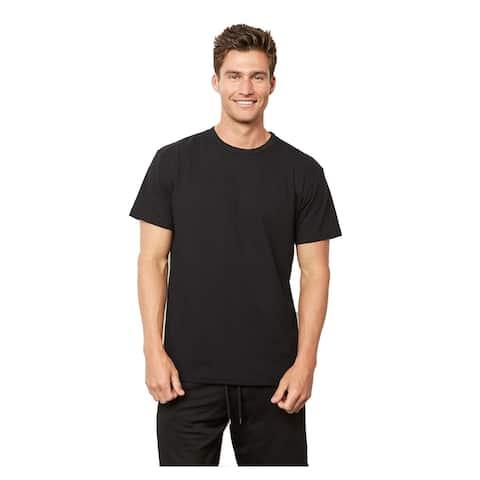 Next Level mens Next Level Unisex Eco Heavyweight T-Shirt - BLACK - 2XL (4600)