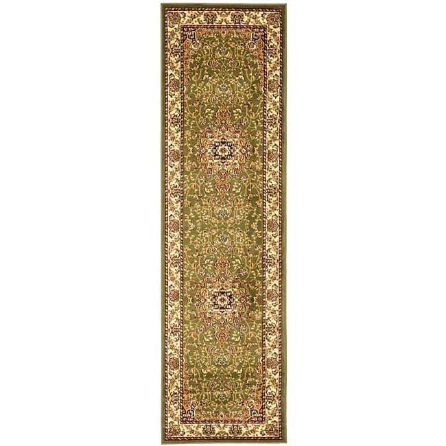"""Safavieh Lyndhurst Traditional Oriental Sage/ Ivory Runner (2'3"""" x 12')"""