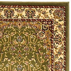 "Safavieh Lyndhurst Traditional Oriental Sage/ Ivory Runner (2'3"" x 12') - Thumbnail 1"