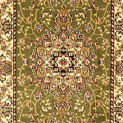 "Safavieh Lyndhurst Traditional Oriental Sage/ Ivory Runner (2'3"" x 12') - Thumbnail 2"