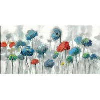 Anastasia C. 'The Flowers' Gallery Wrapped Canvas Wall Art