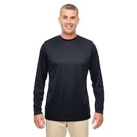b5be3858 UltraClub mens UltraClub Men's Cool & Dry Performance Long-Sleeve Top -  ROYAL - 6XL