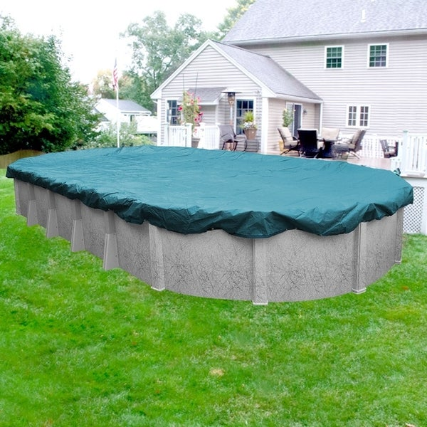 Shop Pool Mate Guardian Winter Cover for Oval Above-Ground Swimming ...