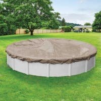 Robelle Defender Winter Cover for Round Above-Ground Swimming Pools