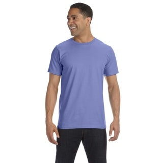 Anvil mens 4.5 oz., 100% Organic Ringspun Cotton T-Shirt (490)