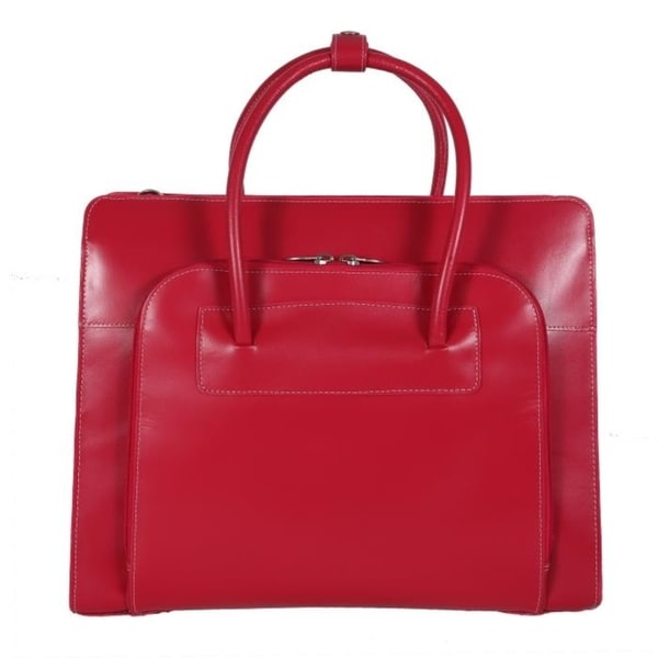 Shop McKlein USA Lake Forest Leather Ladies  Laptop Briefcase - Free ... 634f89859d