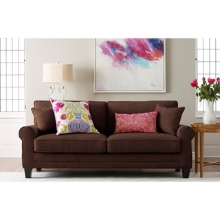 """Whitney 73"""" Sofa in Brown"""