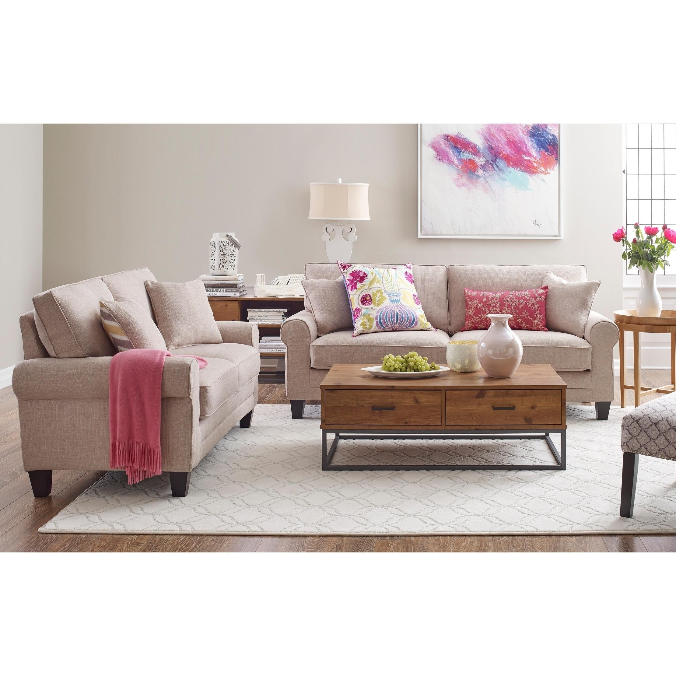 Whitney 73 Sofa in Beige