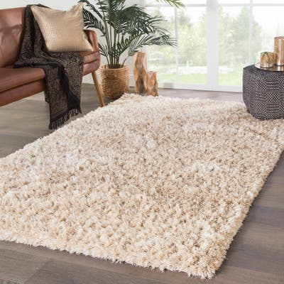 Ivory Flokati Area Rugs Online At