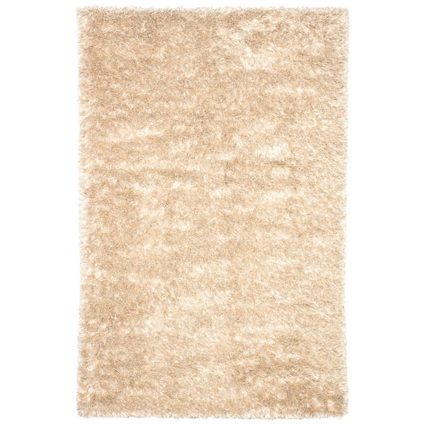 Axel Solid Ivory Gold Area Rug