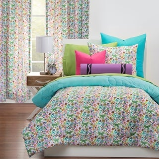 Crayola Butterfly Garden Comforter and Sham Set