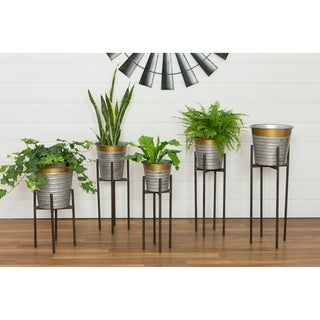 Epperton Modern Farmhouse Planters (Set of 5)