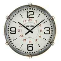Remy Large Metal Wall Clock