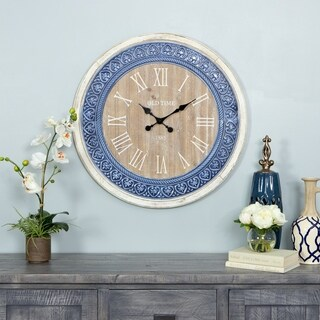 Manderly Country Cottage Wall Clock