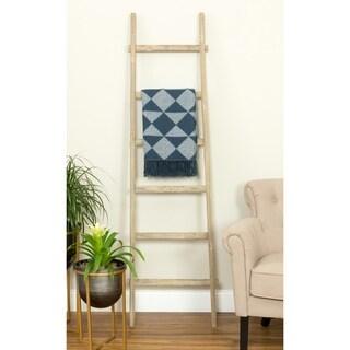 Bambala 6 ft Decorative Ladder - Walnut Finish - N/A