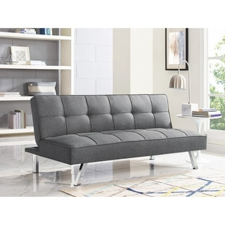 Top Product Reviews for Serta Charlie Tufted Grey Upholstered ...