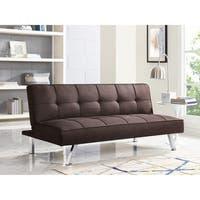 Serta Charlie Brown Tufted Convertible Sofa