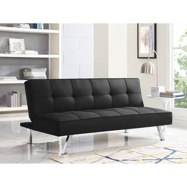 Shop Serta Charlie Convertible Sofa - On Sale - Free ...