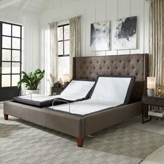 Sleep Zone Z350 Adjustable Base with Wireless Remote, Massage and USB, Multiple Sizes