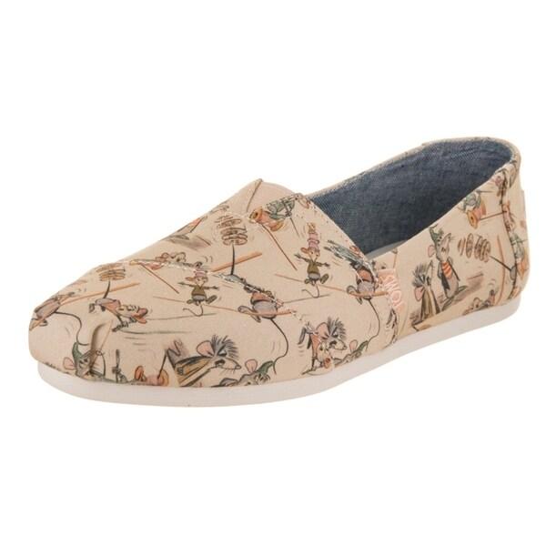 3cd96822a2a Shop Toms Women s Classic Gus   Jaq Slip-On Shoe - Free Shipping ...