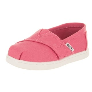 Toms Toddlers Classic Bubblegum Pink Casual Shoe (4 options available)