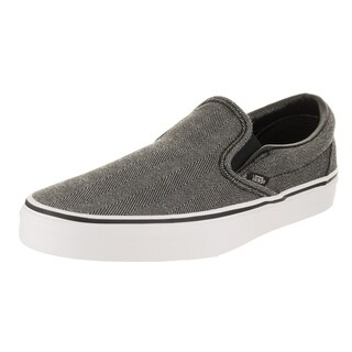 Vans Unisex Classic Slip-On (Oversized Herringbone) Skate Shoe (4 options available)