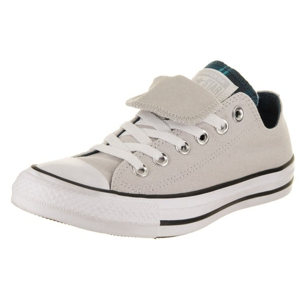 4980af68241 Converse Women's Chuck Taylor All Star Double Tongue Ox Casual Shoe