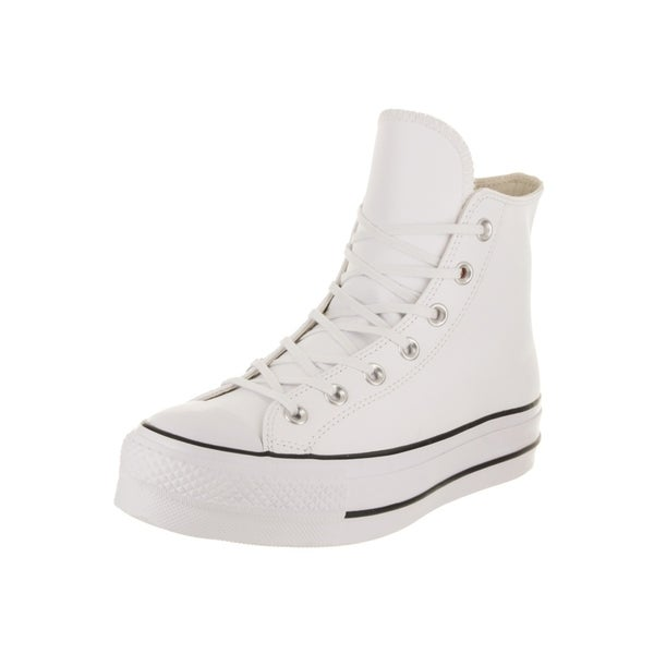 620f3fb2dceaf6 Converse Women  x27 s Chuck Taylor All Star Lift Clean Hi Casual Shoe