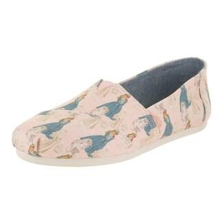 Toms Women's Classic Sleeping Beauty Slip-On Shoe