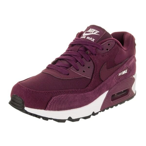 big sale 08b9e c0d28 Shop Nike Women's Air Max 90 Leather Running Shoe - Ships To ...