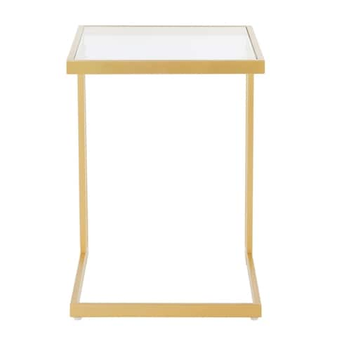 Carbon Loft Arturio Contemporary Glam Side Table - N/A