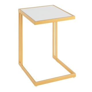 Roman Contemporary-Glam Side Table by LumiSource