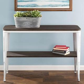 Carbon Loft Samira Industrial Metal/Wood Console Table