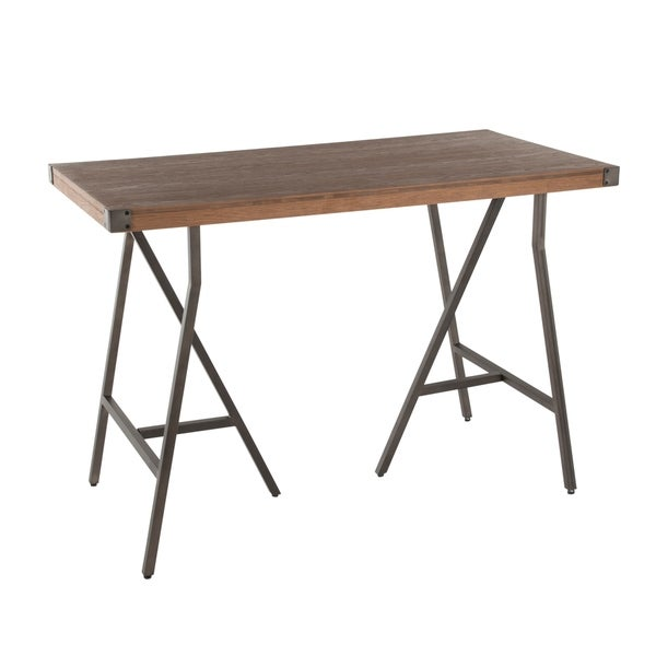 Counter Height Dining Table For 8: Shop Carbon Loft Patti Industrial Counter Height Dining