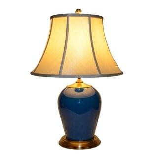 Kemp Blue/Green Ceramic Table Lamp