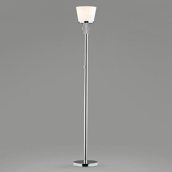 Rounds Dimmer Led Torchiere Floor Lamp